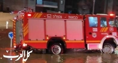 توجيهات الإطفاء والإنقاذ مع هطول الأمطار الأولى