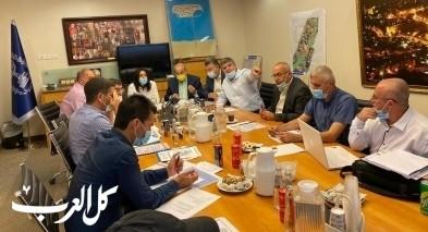 بلدية أم الفحم: لقاء مثمر مع وزيرة المواصلات ميري ريغف