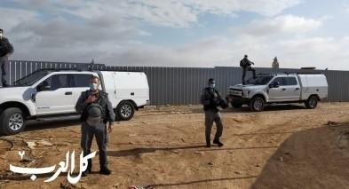 هدم منزل في قرية بئر الحمام وحملة اعتقالات