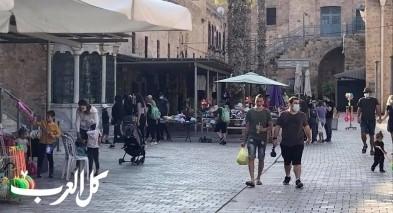 عكا| الحياة تعود تدريجيًا لسوق البلدة القديمة