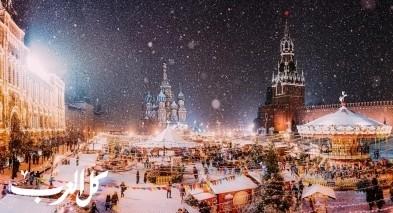 أفضل 3 وجهات سياحية في الشتاء