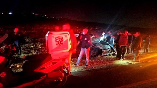 مصرع شخص بحادث طرق قرب مجدليم في الضفة