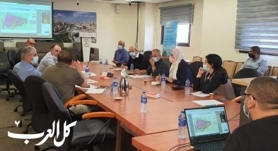 جلسة عمل لمجلس يافة الناصرة وزارة الاقتصاد