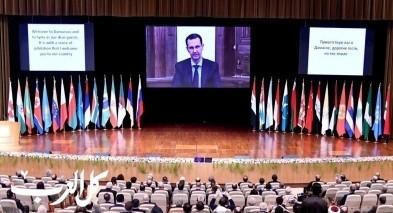 الأسد: قضية اللاجئين السوريين مفتعلة