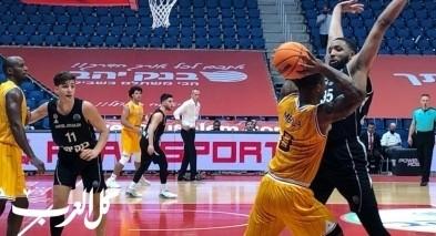 هبوعيل القدس بكرة السلة يحقق اول فوز في دوري الابطال