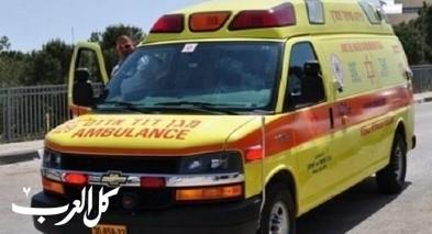 القدس: اندلاع حريق يسفر عن اصابة مسن