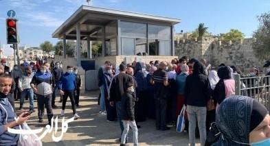 الشرطة تعرقل دخول نساء من الضفة الغربية للمسجد