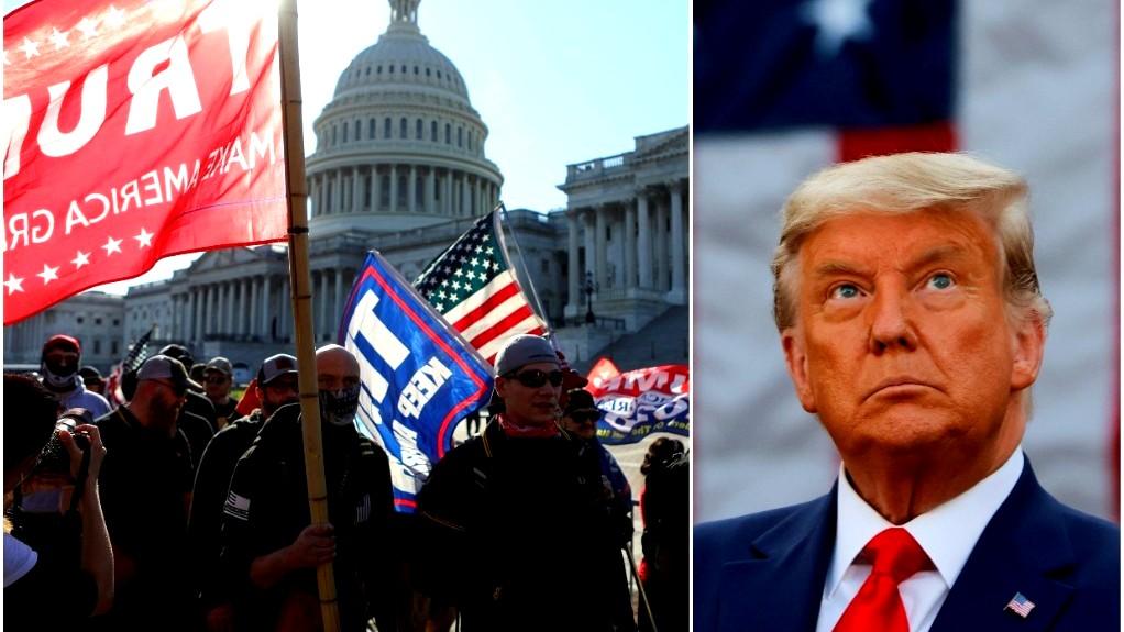 ترامب يشكك مجددا: الانتخابات مزورة