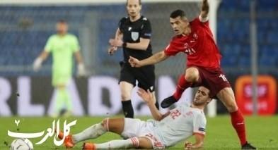 إسبانيا يسقط في فخ التعادل الإيجابي ضد سويسرا