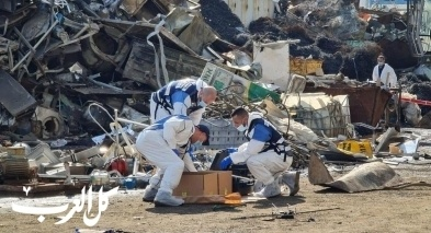 انفجار أشدود: احالة أحد أصحاب المصنع للتحقيق