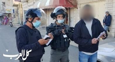 كفرعقب: اصابة مجنّد خلال حملة للشرطة