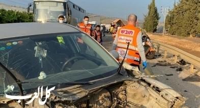 4 إصابات بحادث طرق قرب مفرق مجدال