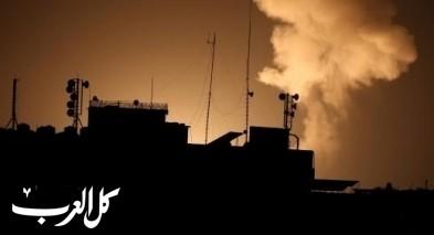 غارات اسرائيلية على اهداف عسكرية لحماس في غزة