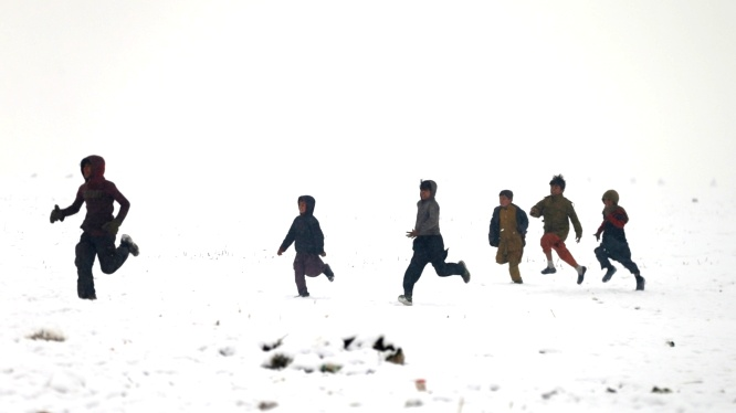 صور| الثلوج في كابول - أفغانستان