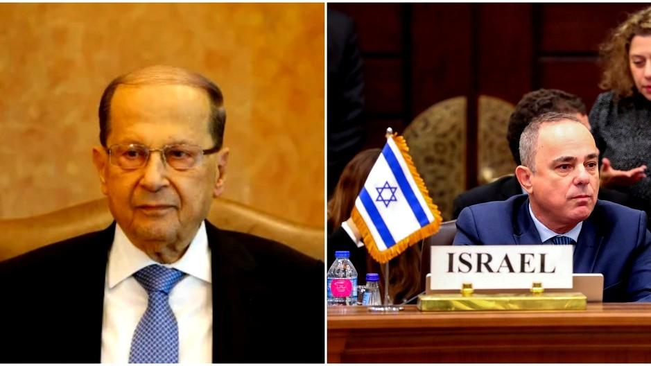 وزير الطاقة الإسرائيلي يوجه رسالة للرئيس اللبناني