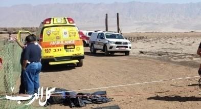الجنوب: إصابة عاملين إثر سقوط جسم ثقيل