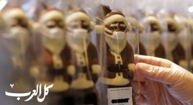 صور| بابا نويل في زمن الكورونا