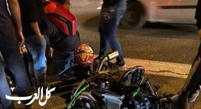 إصابة خطيرة بحادث طرق قرب كفار تفور