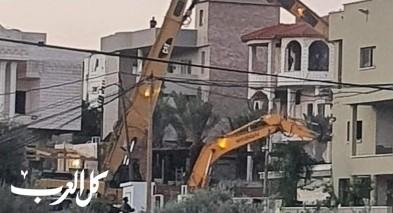كفرقاسم: هدم منزل علاء عودة وتشريد العائلة