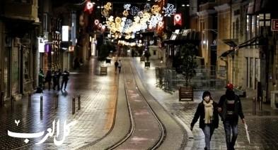 صور| اسطنبول تخل من زوارها بسبب الاغلاق