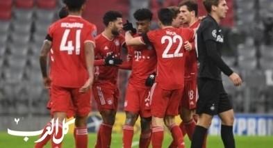 بايرن ميونيخ يتأهل إلى ثمن نهائي دوري أبطال أوروبا