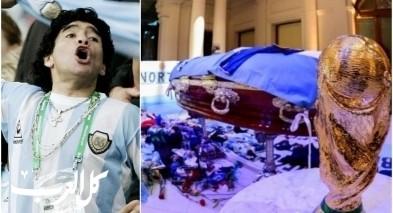 صور: جماهير غفيرة تودّع مارادونا