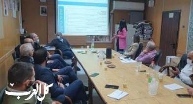 بلدية طمرة: لقاء مع نواب من المشتركة