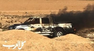 النقب| إنقاذ شابين قبل لحظات من انفجار سيارة
