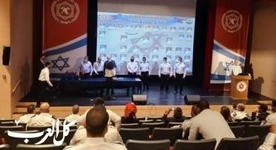 تخريج 26 شابًا من دورة مساندي رجال إطفاء