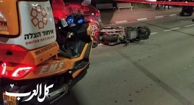 مصرع شاب بحادث دراجة نارية في بات يام