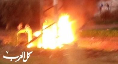 كفرمندا: انقطاع الكهرباء بعد اندلاع النيران في محول