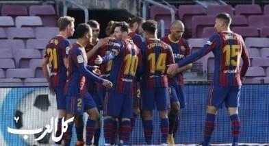 برشلونة يسحق أوساسونا في الدوري الاسباني