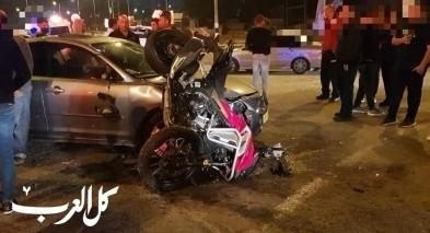 4 إصابات على شارع 781 قرب عبلين