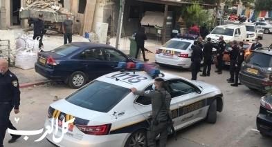 شعب: مناوشات في أعقاب مطاردة بوليسية