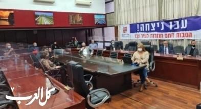 عكا:اجتماع طارئ في ظل ارتفاع عدد مصابي الكورونا