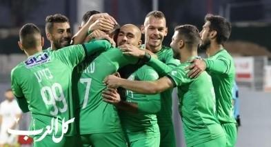 أحمد عابد يفك النحس قائدا الإخاء الناصرة إلى فوز