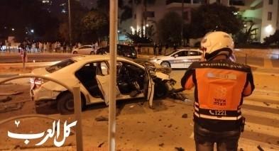 اصابة رجل بجراح متوسطة اثر انفجار سيارة في ريشون