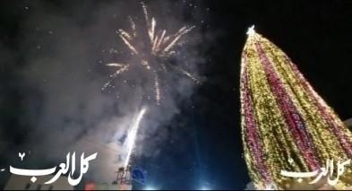 الليلة: إضاءة شجرة الميلاد في الناصرة