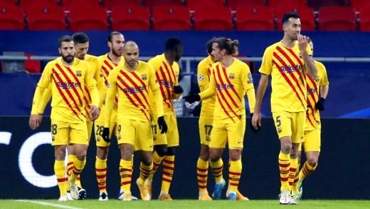 برشلونة يقسو على فرينكفاروزي بدوري أبطال أوروبا