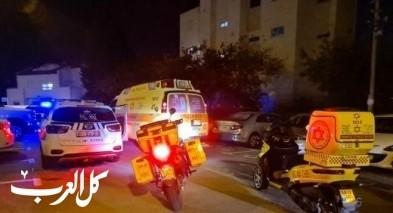 حيفا: اصابة رجل بجراح خطيرة اثر سقوطه عن سلم