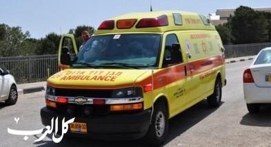 النقب : اصابتان في حادث تصادم تركترون