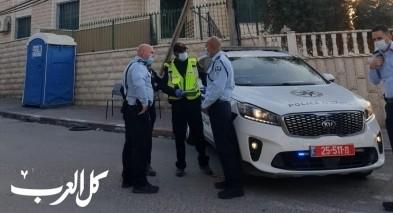 رهط: قائد شرطة النقب يقوم بجولة بين الأحياء المغلقة
