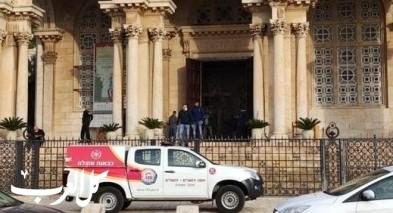 القدس: اعتقال رجل لمحاولة احراق كنيسة الجثمانية