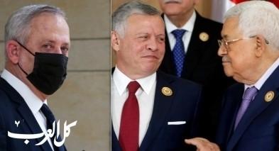 غانتس يتلقى دعوة للقاء العاهل الأردني