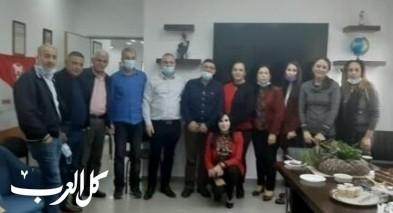 قسم التربية والتعليم في بلدية سخنين يكرم جاد خلايلة