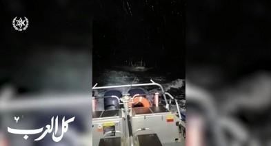 الشرطة البحرية تنقذ 3 صيّادين من الناصرة
