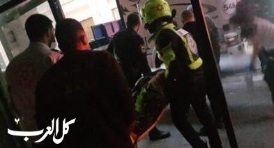 حيفا: تخليص رجل سقط عن ارتفاع 15 مترًا وعلق بعريشة