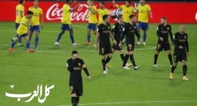 قادش يحرج برشلونة ويهزمه بهدفين في الدوري الإسباني