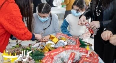 جمعية امانينا - عرابة توزع الهدايا على الاطفال