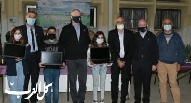 وزير التّربية يوآب غالانت يزور قرية كسرى- سميع